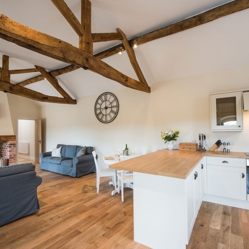 The Shippen Self Catering at Moreton Hall Farm Newport Shropshire
