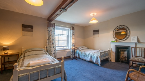 B&B Twin Room in Shropshire