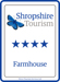 Shropshire Tourism 4 Star Accommodation